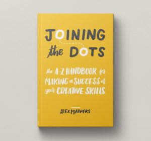 <span>Joining The Dots by Alex Mathers —Book Design and Layout</span><i>→</i>