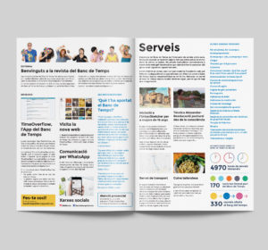 <span>Breda's Time Bank's magazine – Magazine design and layout</span><i>→</i>